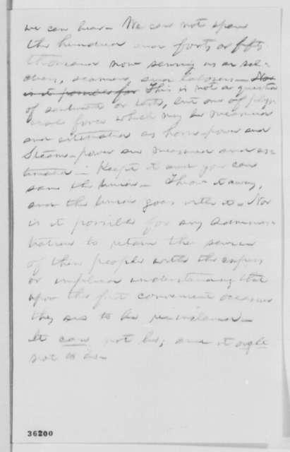 Abraham Lincoln to Isaac M. Schermerhorn, Monday, September 12, 1864  (Invitation)