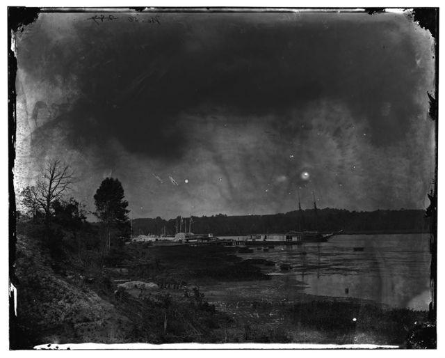 Appomattox River, Virginia. Medical supply steamer, PLANTER