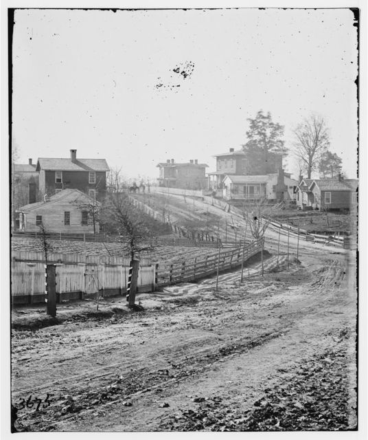 Atlanta, Georgia (vicinity). View of houses