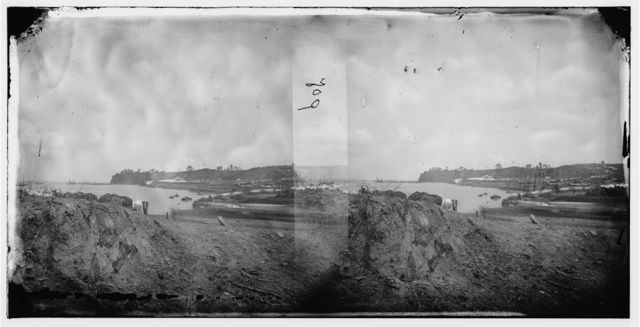 Belle Plain, Virginia. Encampment of 2d New York and 1st Mass. Heavy Artillery