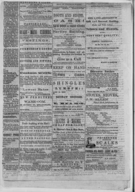 Bellefontaine Ohio Republican, Friday, November 11, 1864  (Newspaper)