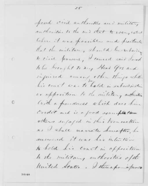 Benjamin F. Butler to Abraham Lincoln, Monday, August 01, 1864  (Report on affairs at Norfolk, Virginia)