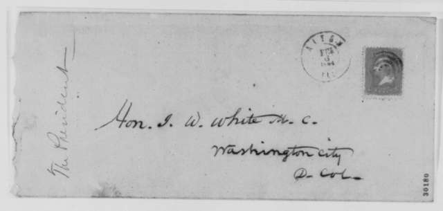 Benjamin S. Cowen to Joseph W. White, Friday, February 05, 1864  (Executive clemency for prisoners sentenced to be shot)
