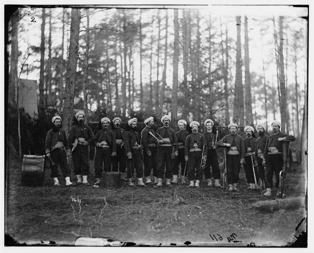 [Brandy Station, Va. Band of the 114th Pennsylvania Infantry (Zouaves)]