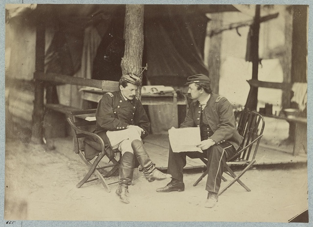 Bvt. Major General C. H. T. Collis Col. 114th Pa. Inf. in front of Petersburg, Aug. 1864