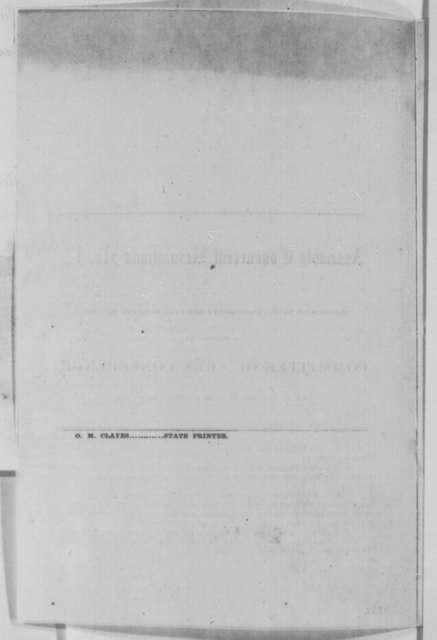 California Legislature, Wednesday, February 17, 1864  (Printed resolution; certified by B. B. Redding, March 11, 1864)
