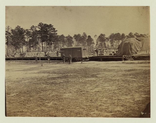 Cedar Level Station, City Point and Army Line, December, 1864