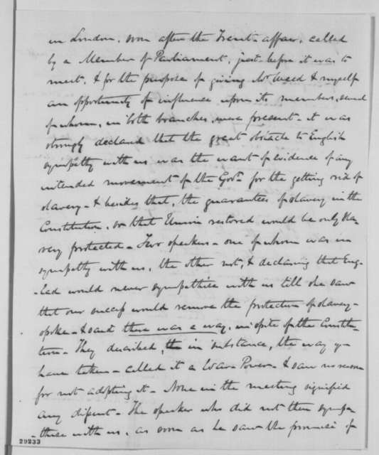 Charles P. McIlvaine to Abraham Lincoln, Wednesday, January 06, 1864  (New Year's greetings and request for autographs)