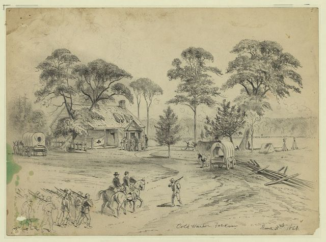 Cold Harbor Tavern, June 3, 1864