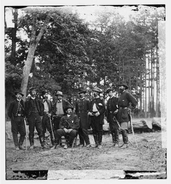 Cold Harbor, Virginia. Gen. W.F. Smith & staff
