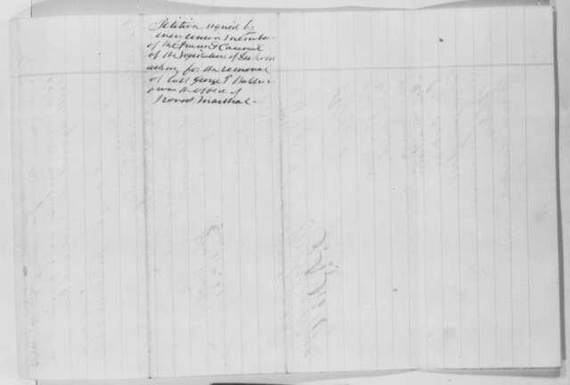 Dakota Territory Legislature to Abraham Lincoln, Monday, January 11, 1864  (Petition requesting removal of George Waldron)