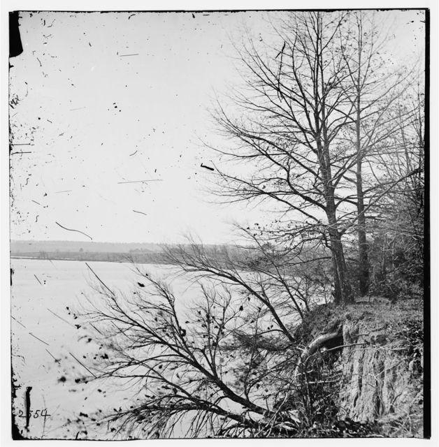 Dutch Gap, Virginia (vicinity). View on James River