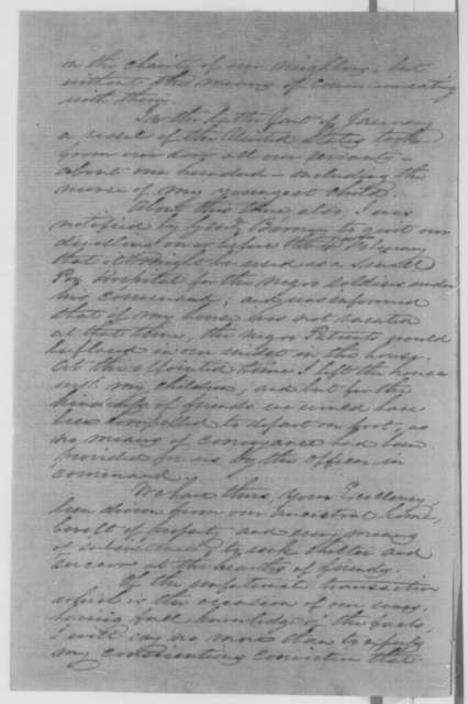 E. M. Sothoron to Abraham Lincoln, Monday, March 07, 1864  (Complains of treatment by military authorities)