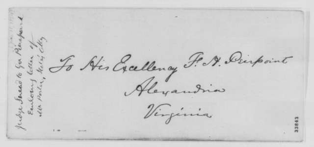 Edward K. Snead to Francis H. Peirpoint, Saturday, June 18, 1864  (Legal affairs at Norfolk, Virginia)
