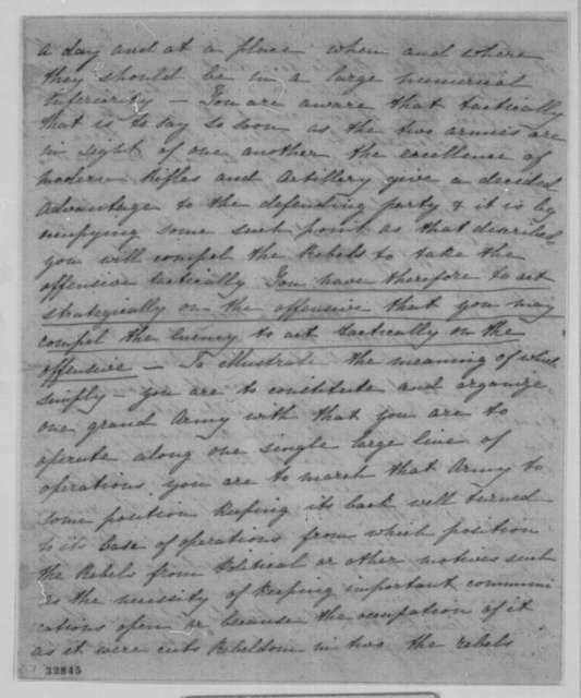Edward Yates to Abraham Lincoln, Wednesday, May 04, 1864  (Political advice from Great Britain)