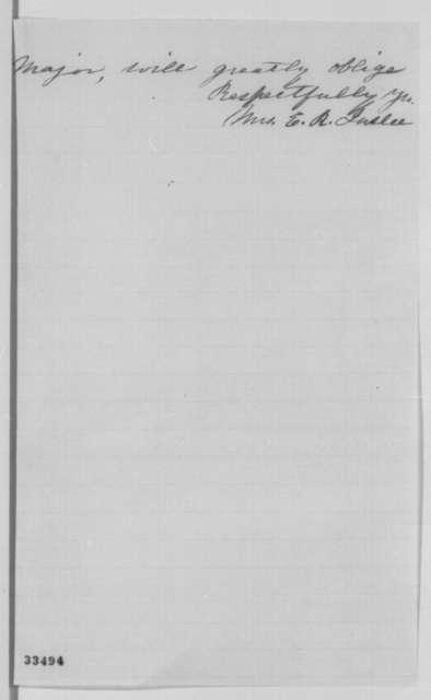 Elyn R. Inslee to [John] Bruce, Thursday, June 02, 1864  (Case of Seth Calhoun)