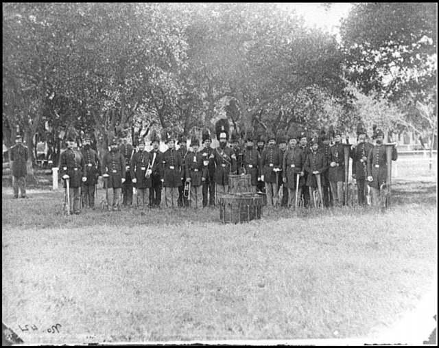[Fort Monroe, Va. The post band]