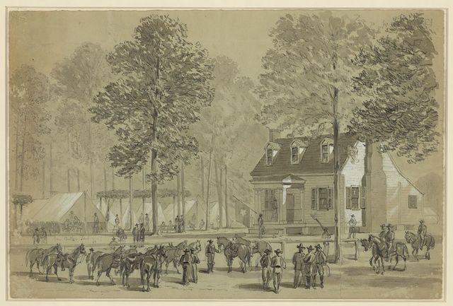 Gen Butlers Head Quarters--Army of the James