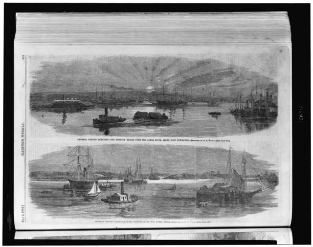 Gen. Grant's campaign ... / sketched by A.R. Waud.