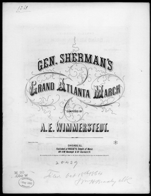General Sherman's grand Atlanta march