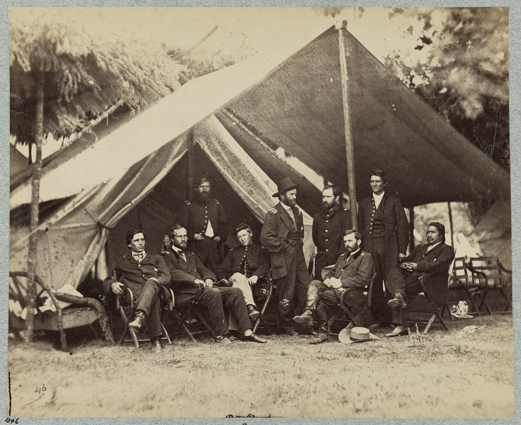 General U. S. Grant and staff, City Point, Va., summer of 1864