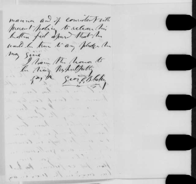 George D. Blakey to Abraham Lincoln, Wednesday, July 20, 1864  (Introduction)