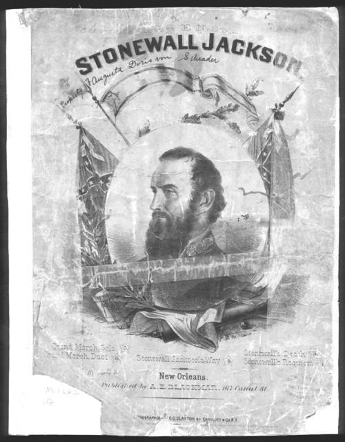 Grand march, illustrative of Stonewall Jackson's way
