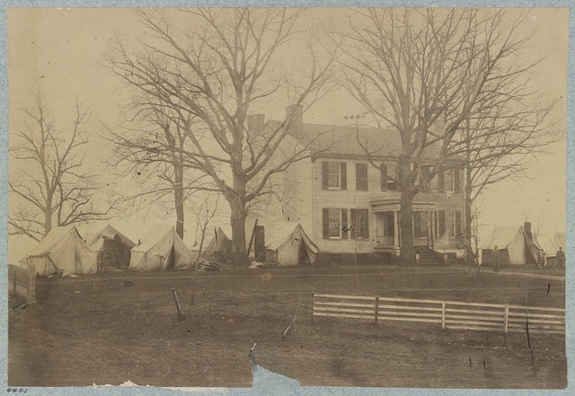 Headquarters 2d Division Cavalry Corps, March, 1864