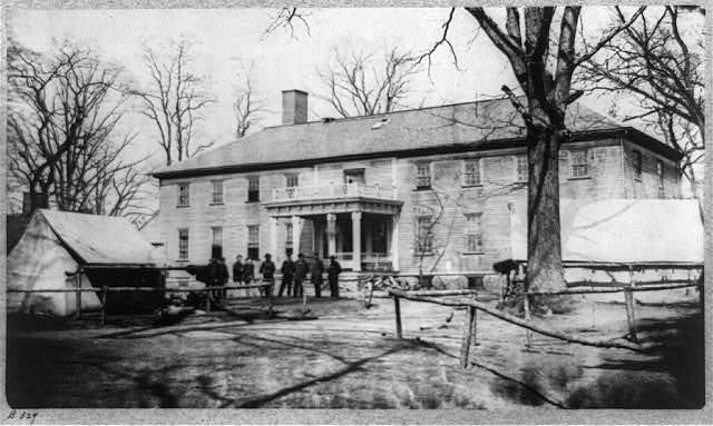 Headquarters 6th Army Corps. March, 1864