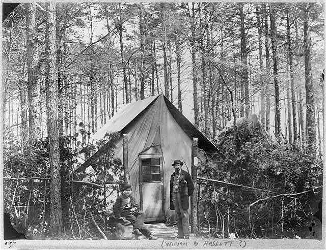 Headquarters Army of Potomac - Brandy Station, February 1864. Post Office