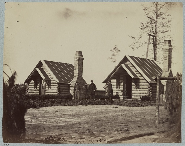 Headquarters Army of the Potomac - Brandy Station, April 1864. Provost Marshal's Office