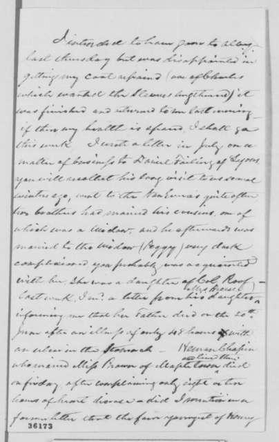 Herman I. Ehle to Kate E. Wetmore, Sunday, September 11, 1864  (Politics)