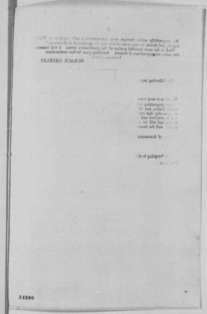 Horace Greeley, Abraham Lincoln, et al., July 1864  (Printed correspondence concerning Niagara Falls negotiations)
