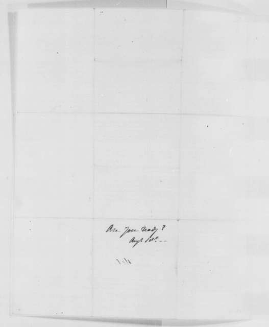 Horatio Seymour to Edwin M. Stanton, Wednesday, August 03, 1864  (Printed: New York State's Draft Quota)