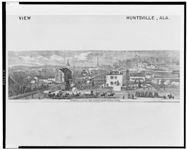 Huntsville, Alabama, from General Logan's head-quarters