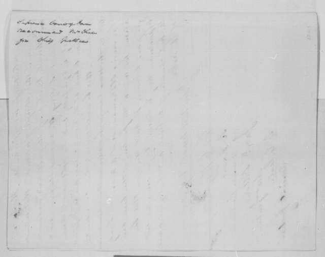 Iowa Supreme Court to Abraham Lincoln, Monday, December 05, 1864  (Recommends Salmon Chase for Chief Justice)