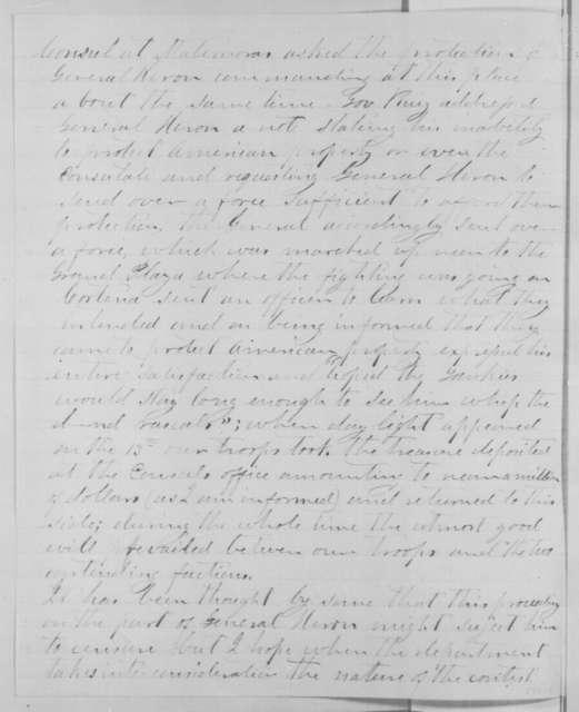 J. Barton McFarland to Edward Bates, Thursday, January 14, 1864  (Affairs in Mexico)