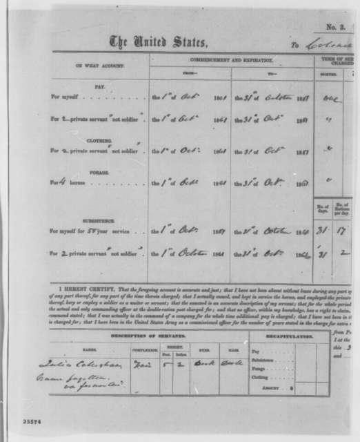 J. Hubley Ashton to Abraham Lincoln, Friday, August 26, 1864  (Case of William Gates)