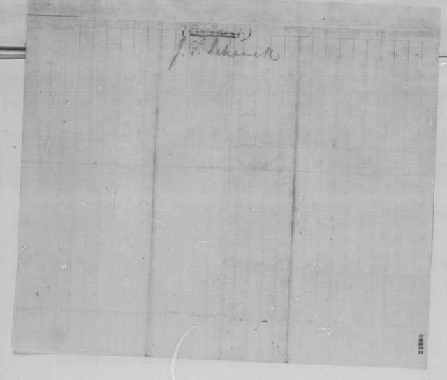 James F. Schenck to Robert C. Schenck, Tuesday, May 03, 1864  (Naval affairs)