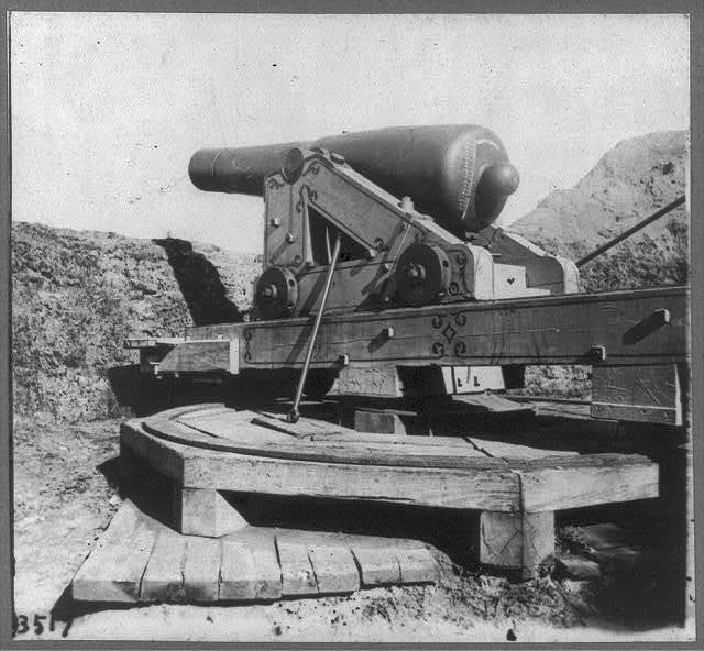 [John B. Gallie gun, Fort McAllister, Georgia]