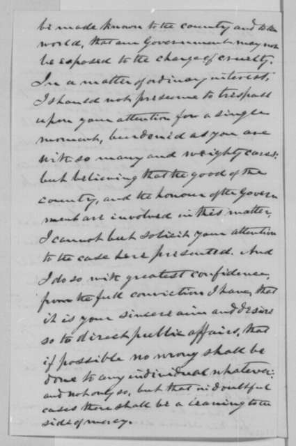 John MacLean to Abraham Lincoln, Wednesday, March 30, 1864  (Case of Dr. Armstrong)