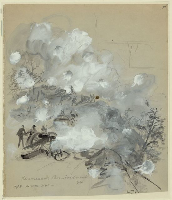 Kennesaw's Bombardment, 64