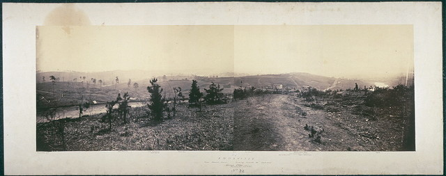 Knoxville from Mabry's house, looking towards the southwest, March, 1864