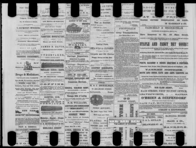 Leavenworth Kansas Daily Conservative, Tuesday, April 05, 1864  (Newspaper issue)