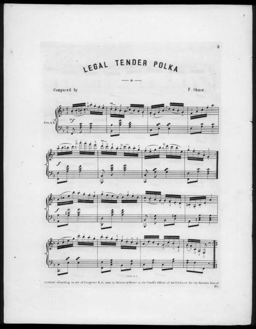 Legal tender polka