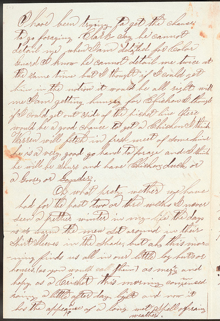 Letter from Giles S. Thomas to Thomas Family, January 30, 1864