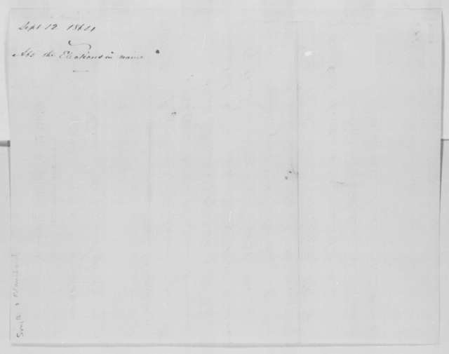 Lewis B. Smith and M. A. Blanchard to Abraham Lincoln, Monday, September 12, 1864  (Telegram reporting election results from Maine)
