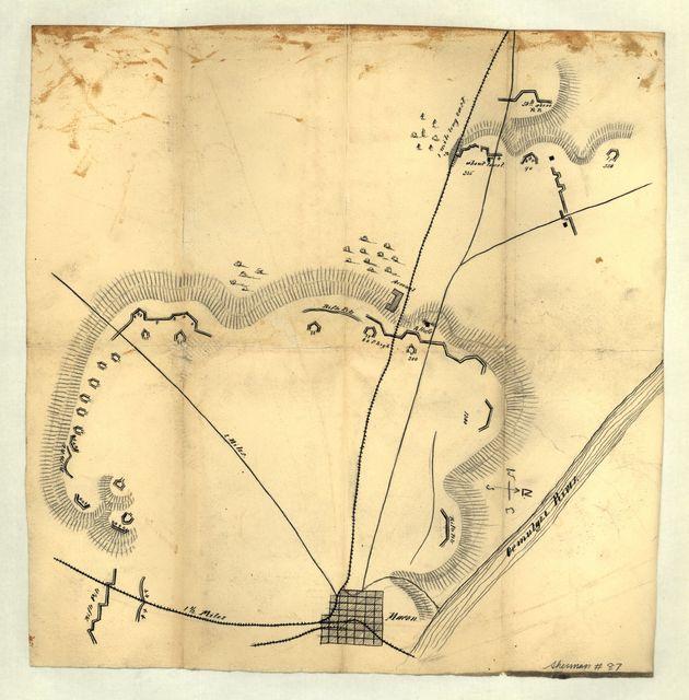 Map of Macon, Ga. and vicinity.