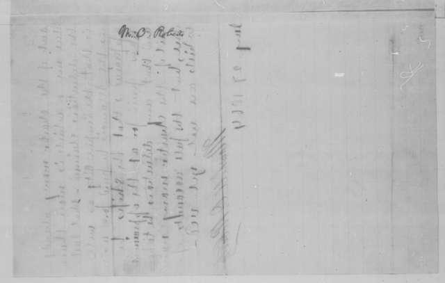 "Marshall O. Roberts, Wednesday, January 27, 1864  (Memorandum concerning the chartering of the ""Empire City"")"