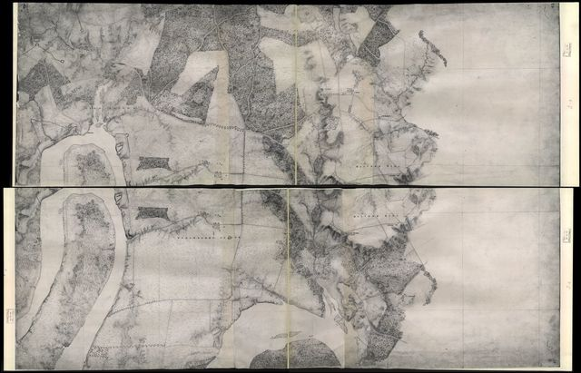 [Military map of Richmond and vicinity] /